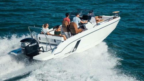 bateau quicksilver 555 open